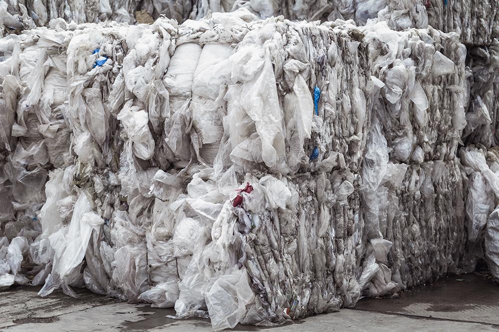 Plastiques à recycler