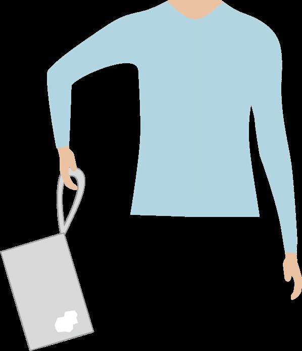 ac à déchets avec anse